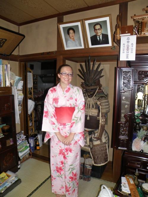 In my yukata