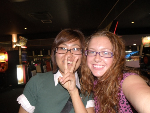 One of my BEST friends, Tomomi! She was a foreign exchange student in Rice Lake, and lived with me for 10 months.