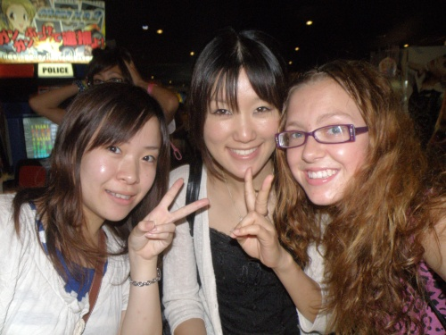My girls, Yuka & Elena. Yuka was a foreign exchange student in my hometown, Rice Lake, a few years ago.