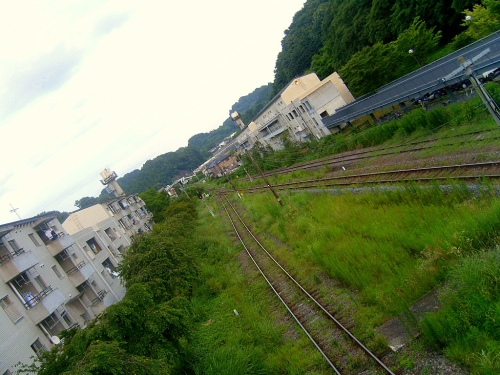 Miharu train station, Fukushima-ken