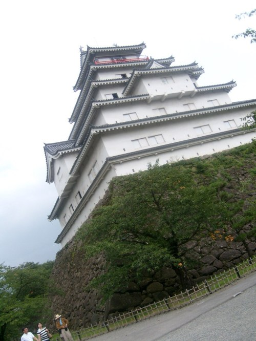 Wakamatsu Tsurugajo Castle, Aizu, Fukushima-ken