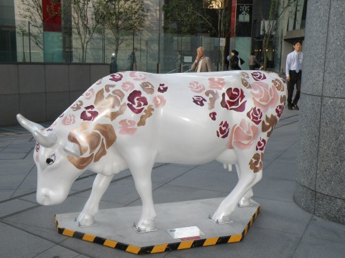 Tokyo Marounouchi Cow Parade 2008