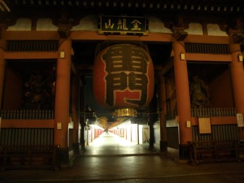 Senso-ji at night