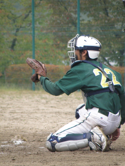 Our awesome catcher!