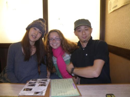 Hitomi, Hugo and I. I love them!!!
