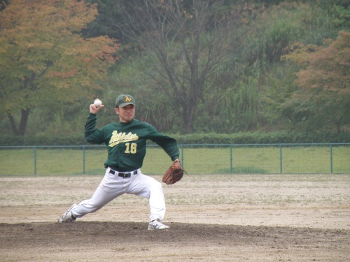 He is such an amazing pitcher!