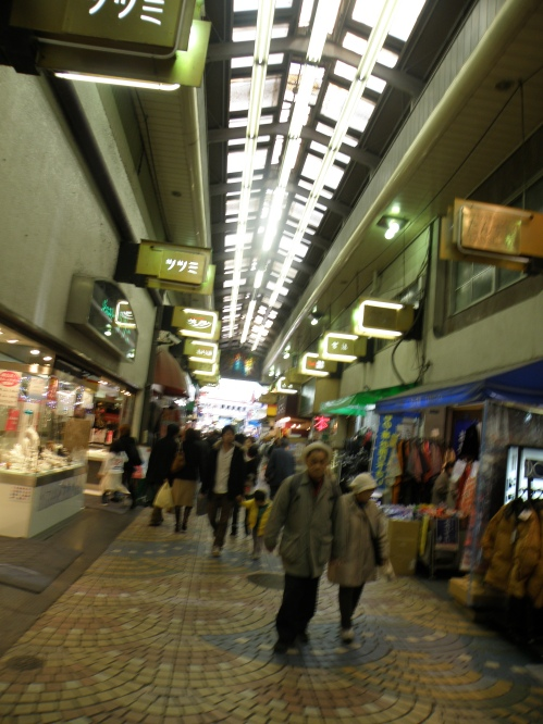 Shopping street near Sensoji